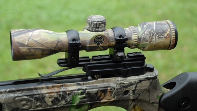 how use night vision scope crossbow