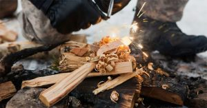 9 Great Tips Will Help You Make Fire in The Rain or Wet Conditions