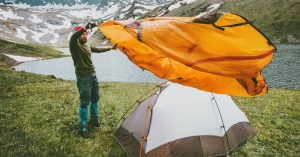 How to Pitch A Tent In 6 Easy Steps: A Hunter's Guide