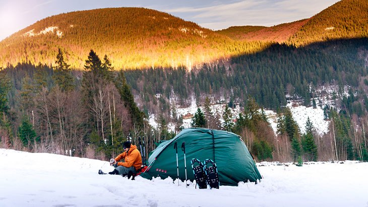 tents for camping in snow