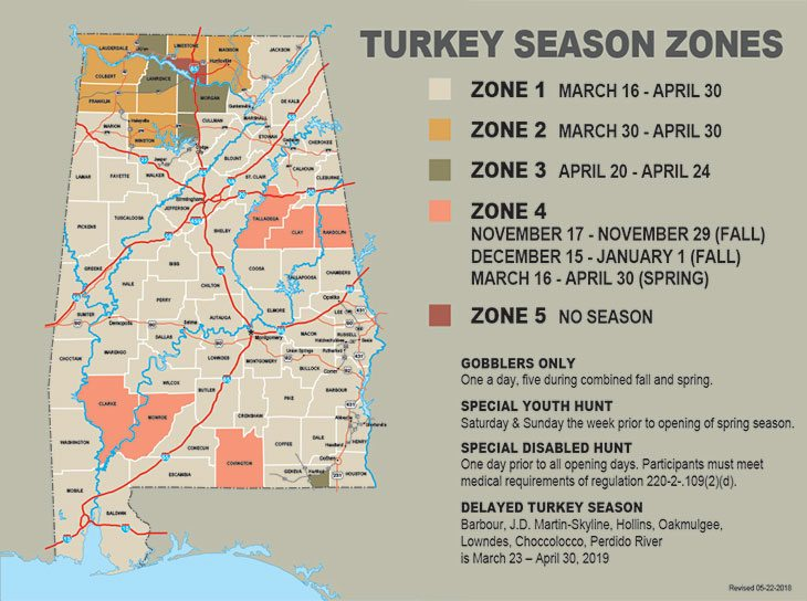 All You Need to Know About Alabama Hunting Seasons, 2018-2019 Zone Map Of Alabama on wisconsin zone map, massachusetts zone map, mexico zone map, charlotte zone map, spokane zone map, phoenix zone map, columbus zone map, nebraska zone map, new england zone map, kansas zone map, fort worth zone map, mi zone map, auburn city schools zone map, birmingham zoning map, denver zone map, miami zone map, nashville zone map, north dakota zone map, utah zone map, riverside county zone map,