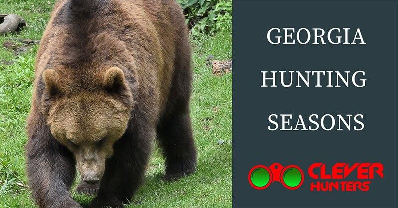 Georgia Hunting Seasons