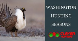 Washington Hunting Seasons, 2018 – 2019